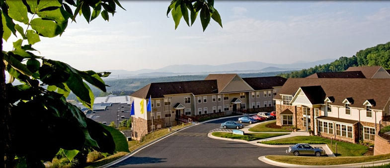Multifamily Builders in Virginia - Pinnacle Construction: Big Sky Apartments, Staunton