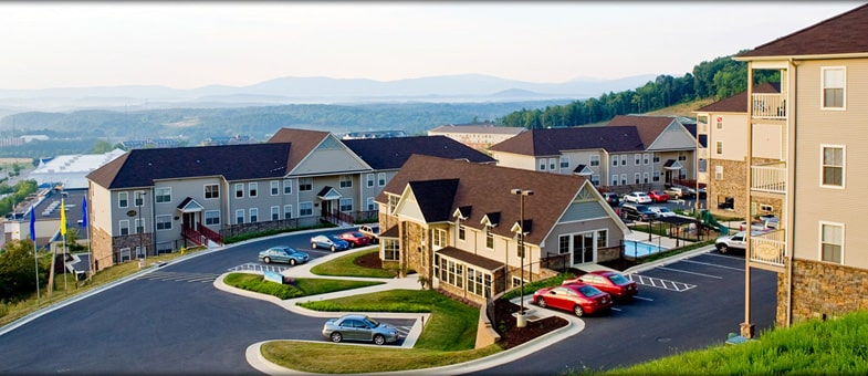 Pinnacle Construction in Virginia - Multifamily Developments: Big Sky Apartments, Staunton