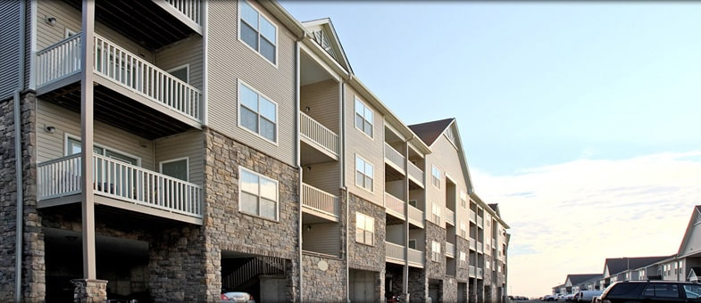 Virginia Apartment Builder - Pinnacle Construction - Big Sky Apartments, Staunton, Virginia