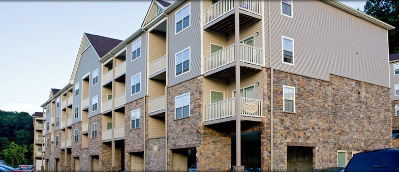 Virginia Multifamily Construction - Big Sky Apartments, Staunton