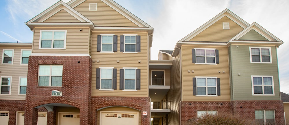Multifamily Construction - The Highlands at Huckleberry Ridge, Blacksburg, Virginia