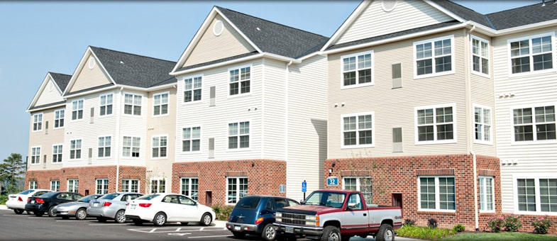Multifamily Building Construction in Virginia - The Landings at Weyers Cave