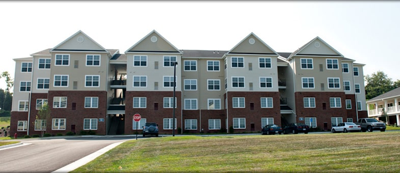 Virginia Multifamily Building Construction - The Landings at Weyers Cave