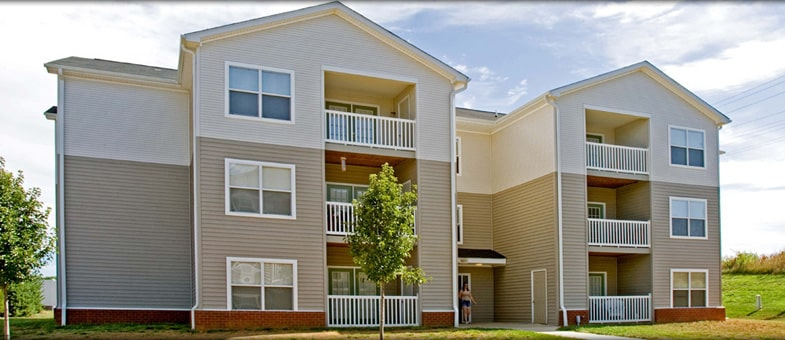 Multifamily Building Development by Pinnacle Construction - Greens at Northridge, Culpeper, Virginia