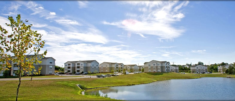 Multifamily Construction at the Greens at Northridge, Culpeper, Virginia