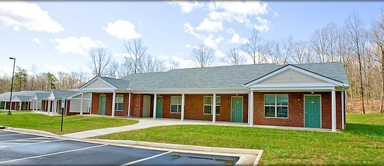 Senior Living Building Constructtion at Parc Crest, Farmville, Virginia