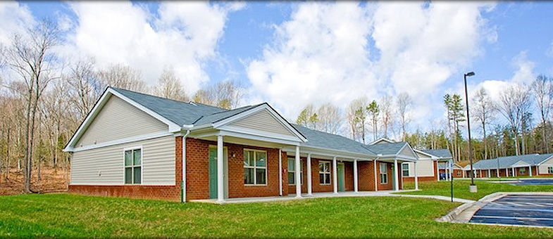 Virginia Senior Living Construction and Development - Parc Crest, Farmville
