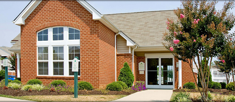 Multifamily Construction at Poplar Forest Apartments, Farmville, Virginia