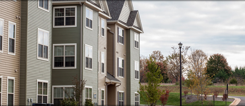Orange, Virginia Multifamily Building Construction - Round Hill Meadows